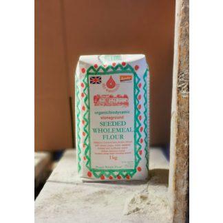 Seed wholemeal flour