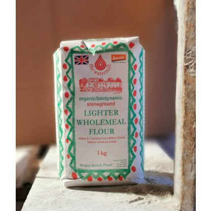 Lighter wholemeal flour - self raising
