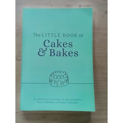 The little book of cakes and bakes front cover
